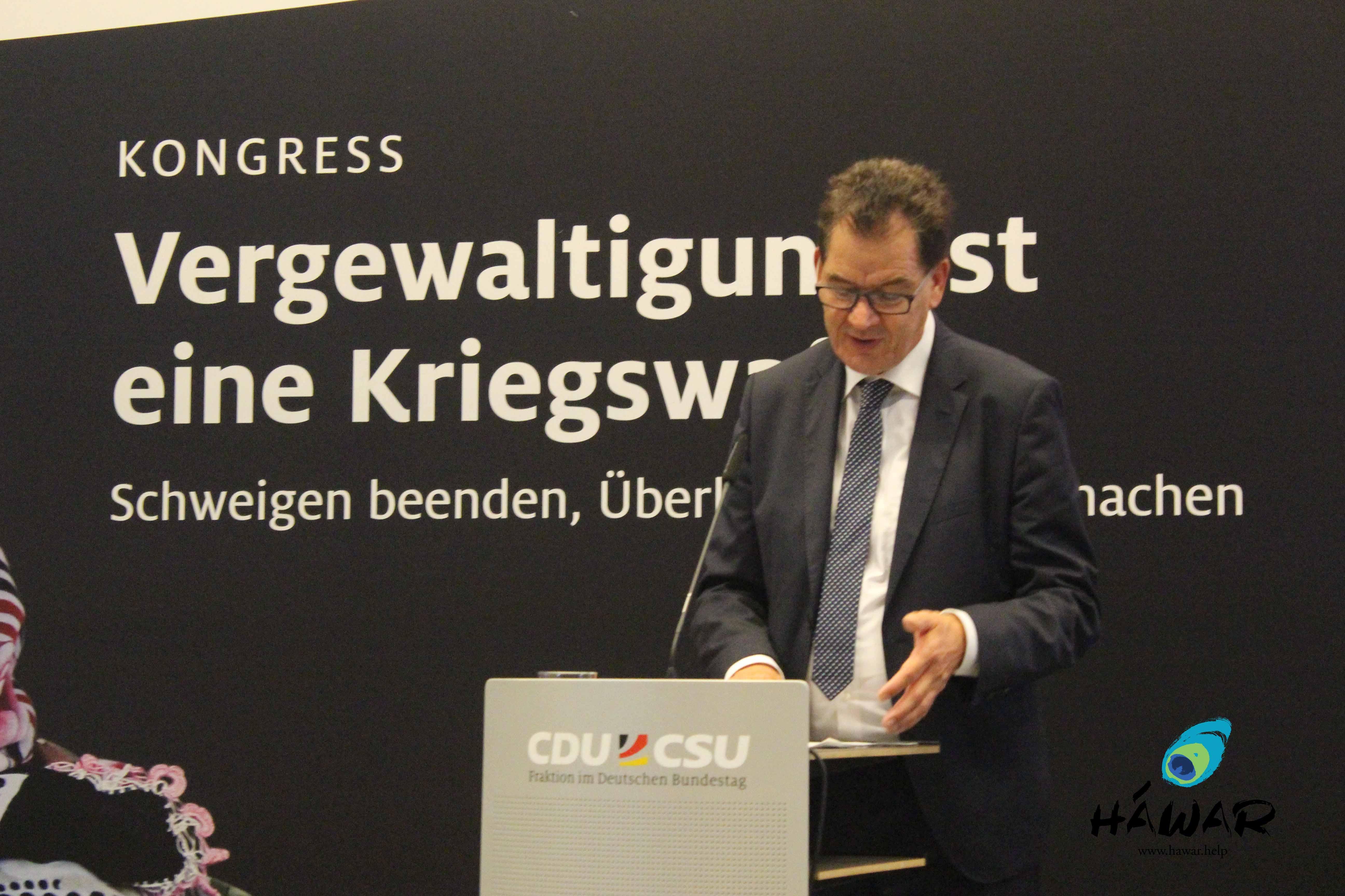 Bundesentwicklungsminister Dr. Gerd Müller