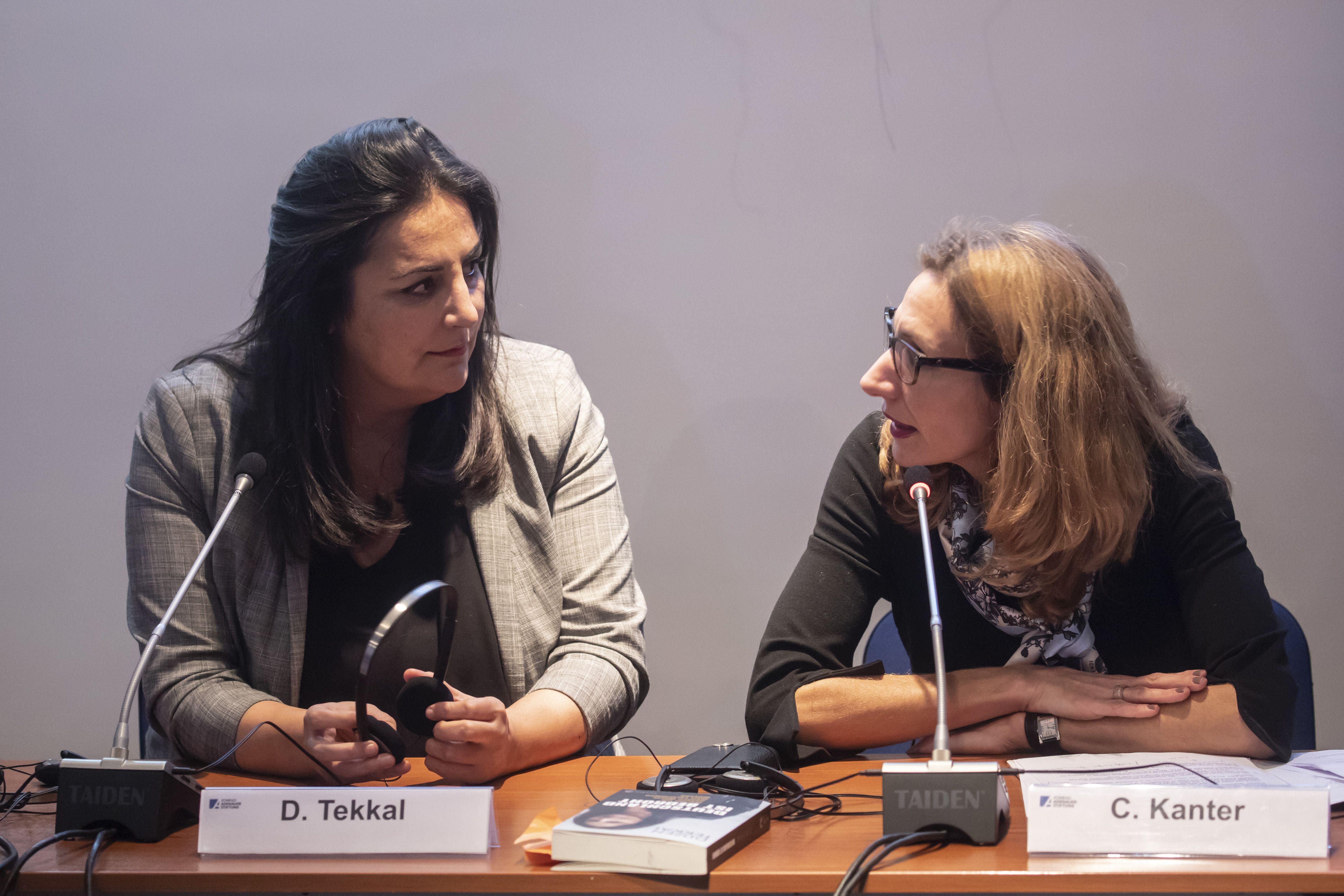 Roma, 27-11-2018. Konrad-Adenauer-Stiftung. L'incontro con Düzen Tekkal. Copyright: Imago Mundi / Stefano dal Pozzolo