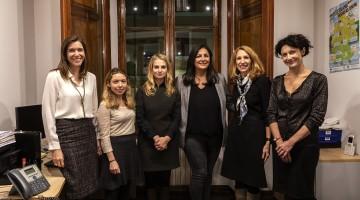 Roma, 27-11-2018. Konrad-Adenauer-Stiftung. L'incontro con Düzen Tekkal.
